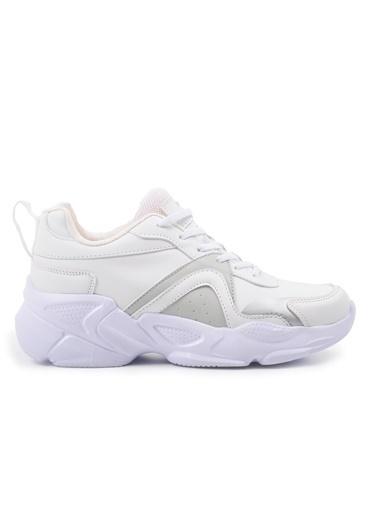 Slazenger Slazenger INWESTA Günlük Giyim Kadın Ayakkabı  Beyaz